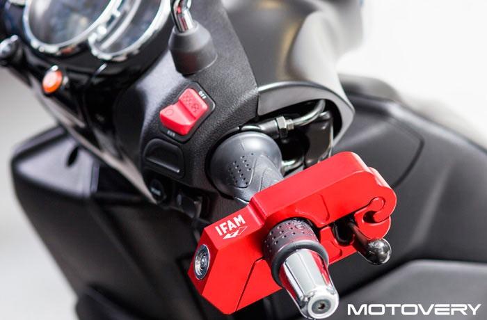 Shoei Gt Air >> CANDADO ANTIRROBO MOTO AL MANILLAR IFAM - Motovery ...