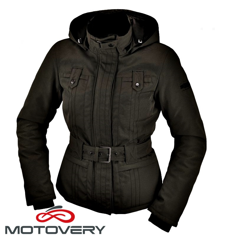 Chaqueta impermeable mujer moto